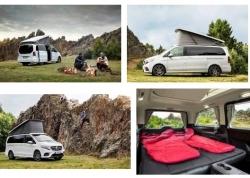 Cắm trại với Mercedes-Benz Marco Polo Horizon